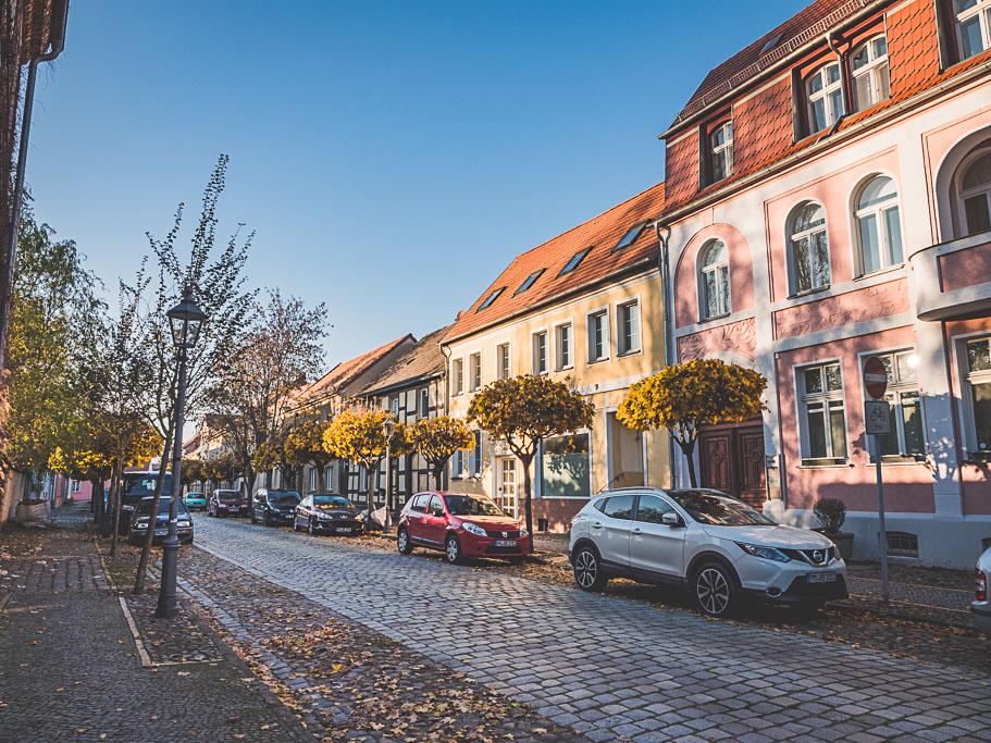 Altstadt Landesgartenschau Beelitz in Brandenburg
