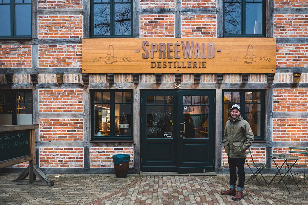 Spreewood Distillers Spreewald im Winter Brandenburg