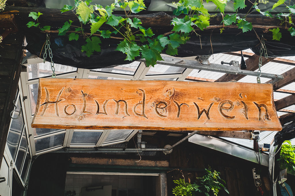 Holunderwein Auleben Süd-Harz Kyffhäuser