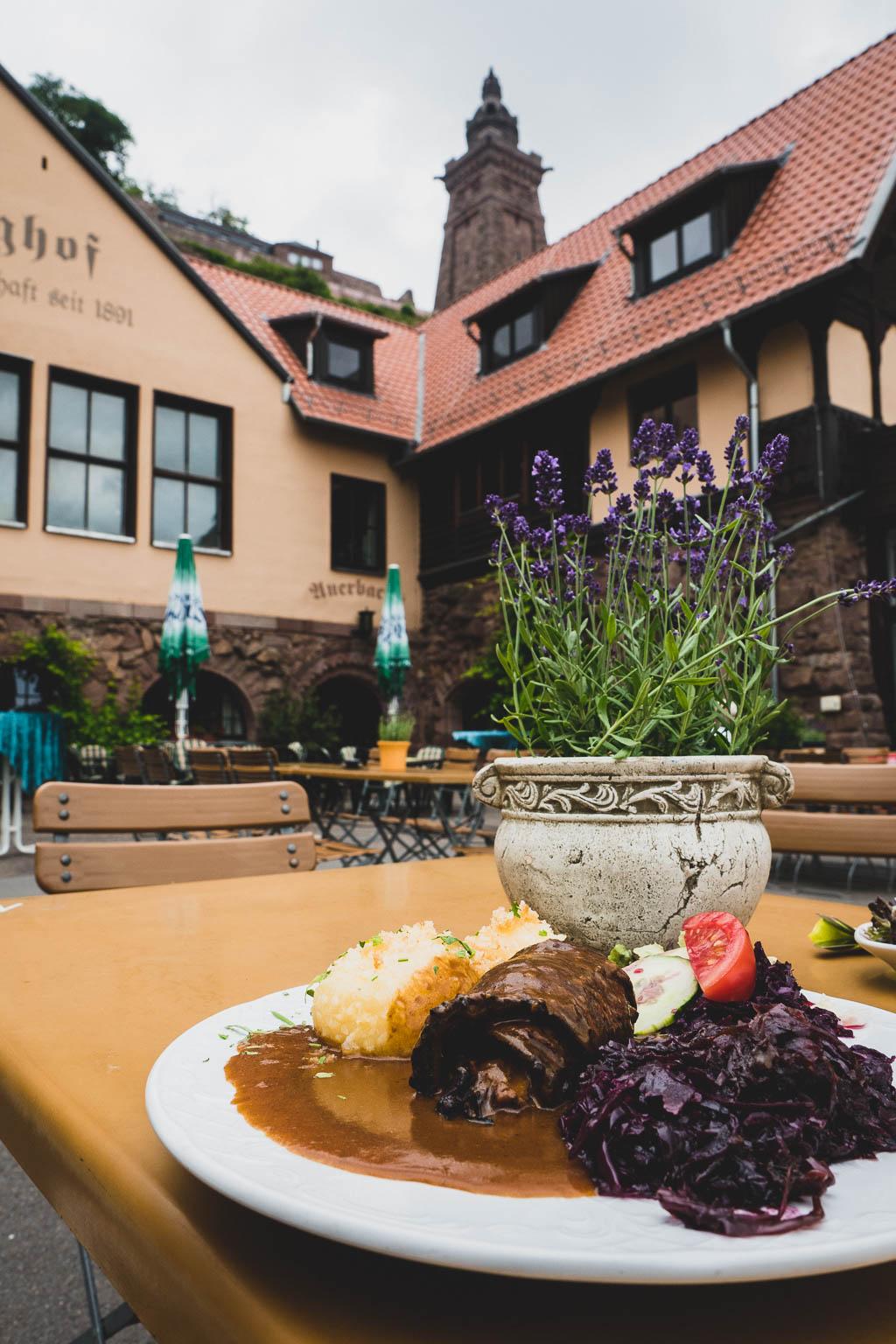 Burghof Restaurant Süd-Harz Kyffhäuser