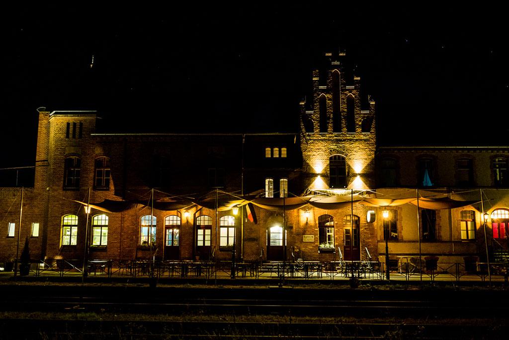 Bahnhof Rehagen Schlafwagenhotel Brandenburg