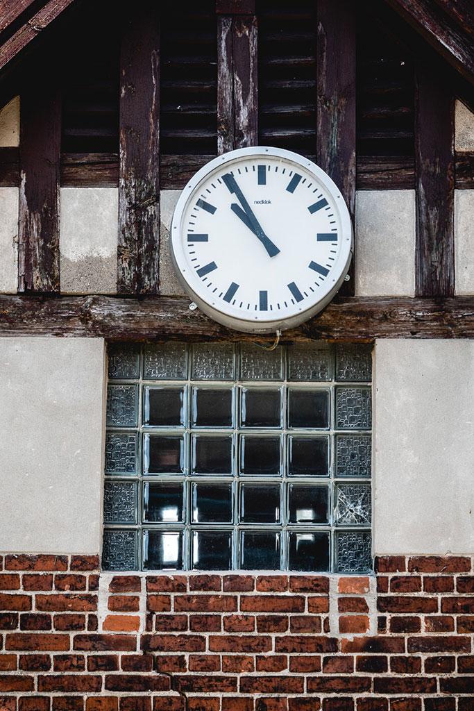 Bildhauer-Bahnhof Sperenberg Brandenburg