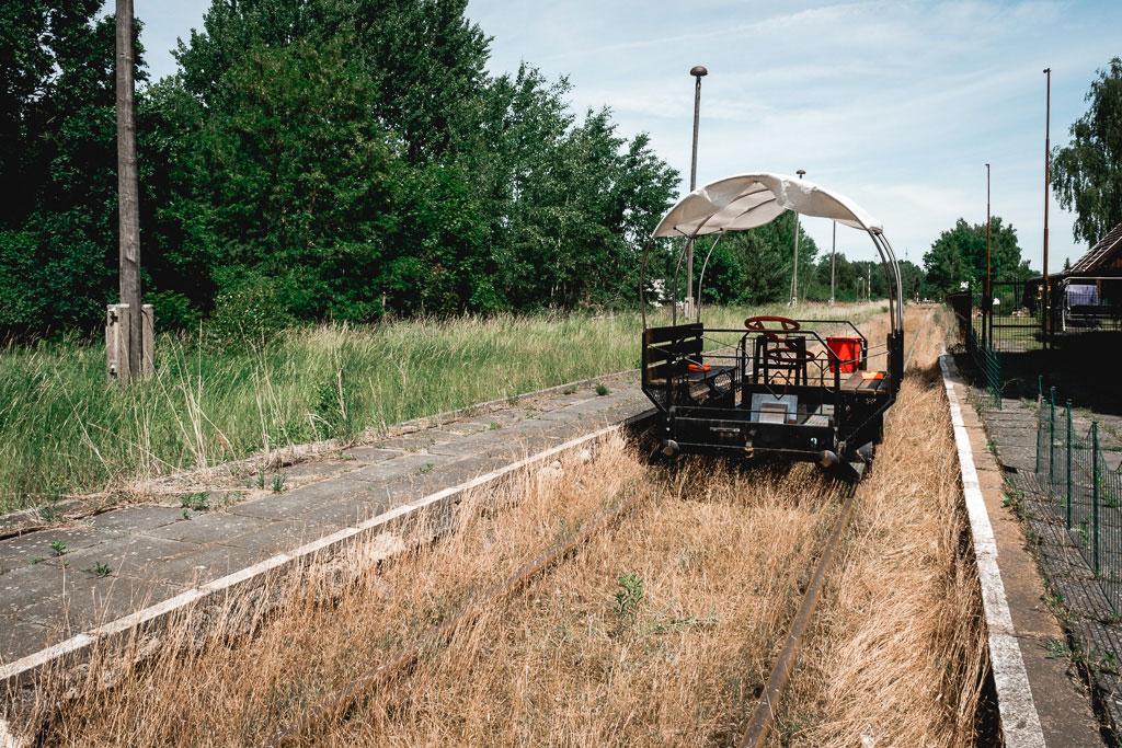 Erlebnisbahn Draisine Brandenburg