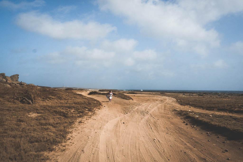wilder Norden von Aruba