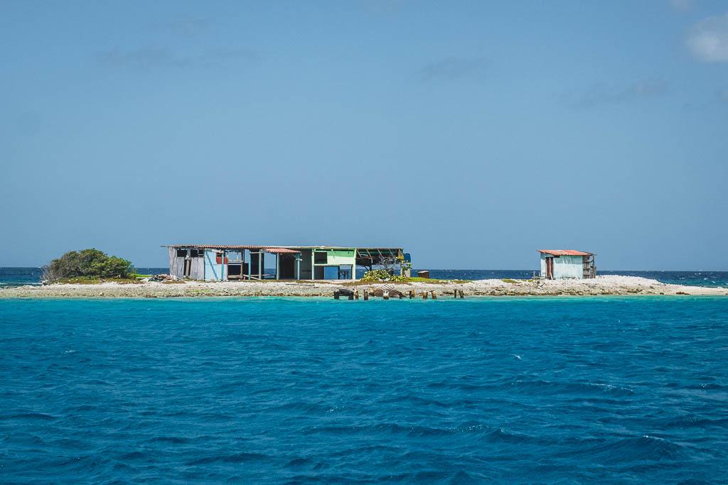 Hütte bei spanischer Lagune Aruba