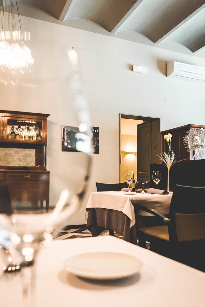 Vicus Restaurant Pals Katalonien Innenansicht