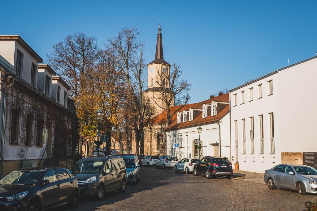 Kirche Teltow Ausflug Brandenburg