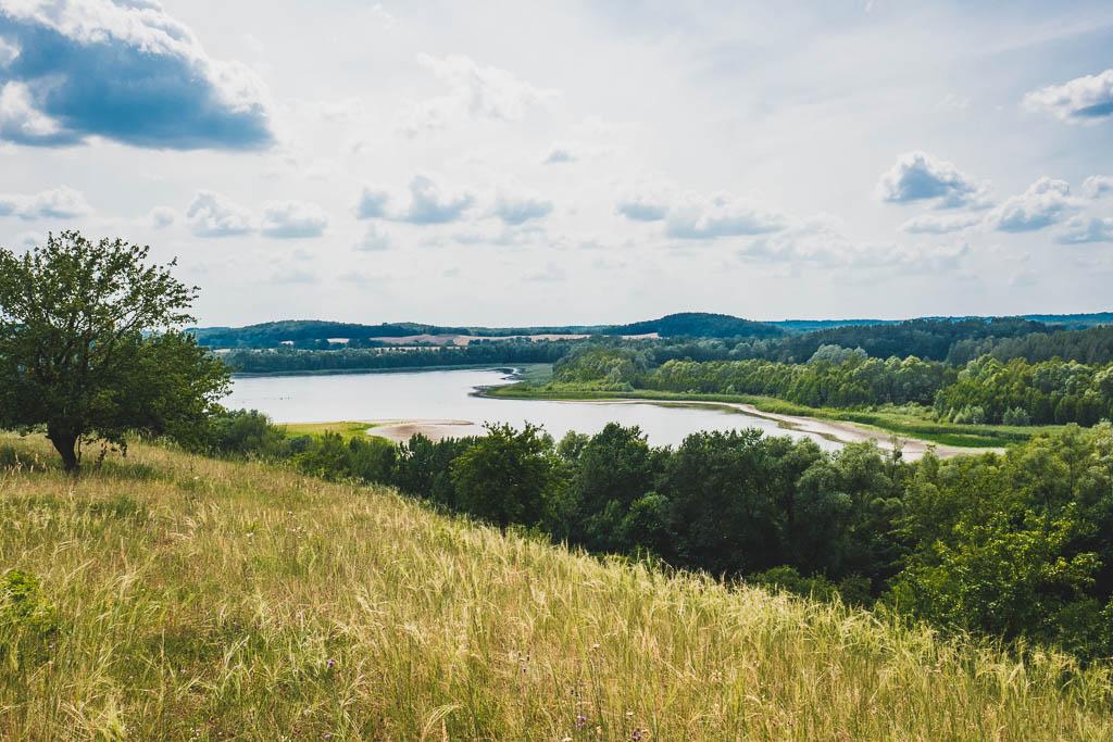 Ausblick vom kleinen Rummelsberg Brodowin Brandenburg