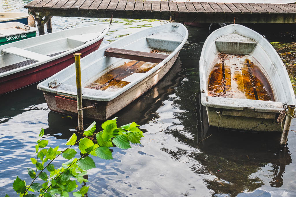 Boote in Wildau Werbellinsee Brandenburg