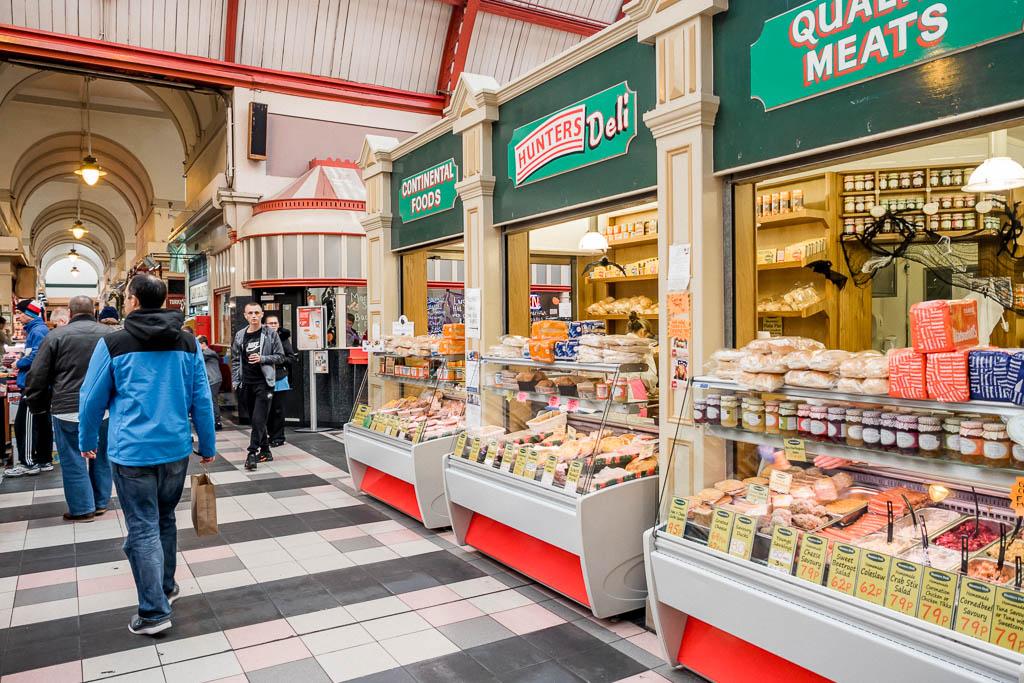 Grainer Market Sehenswürdigkeit Newcastle