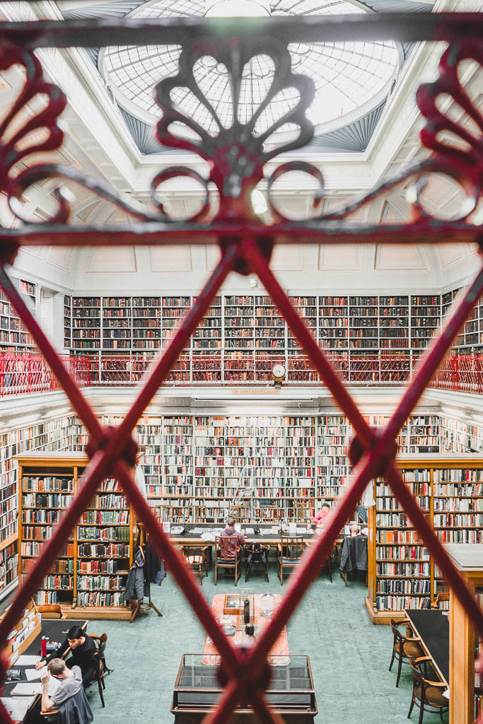 Lit & Phil Bibliothek Sehenswürdigkeit Newcastle