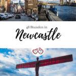 Pinterest Grafik Newcastle Sehenswürdigkeiten und Highlights