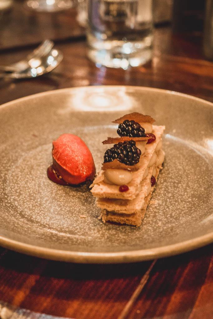 Dessert im Restaurant Dobson & Parnell Newcastle