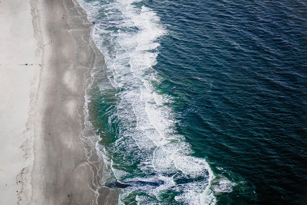 Rundflug Texel Strand