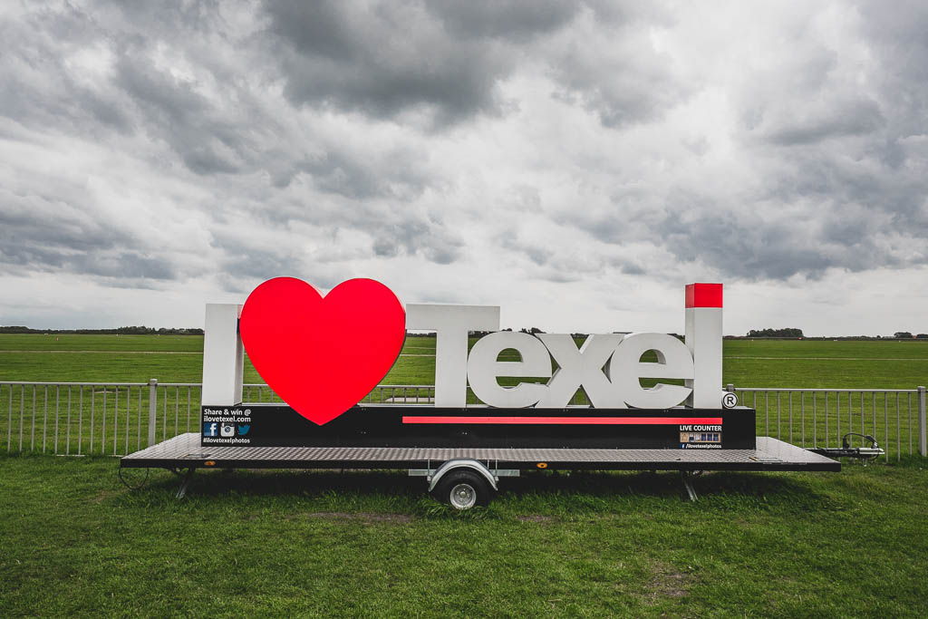 I Love Texel Schild
