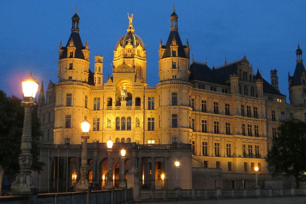 Ausflug nach Schwerin im Sommer