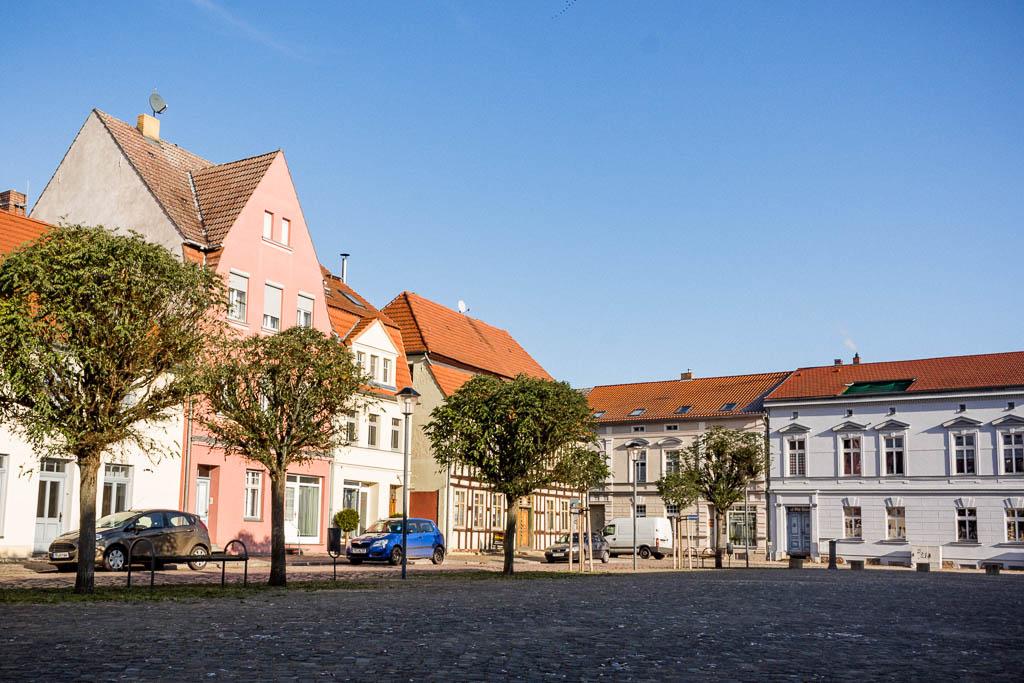 Markt Altstadt Dahme Mark Brandenburg