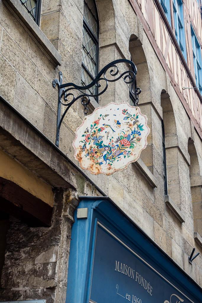 Altstadt von Rouen Normandie