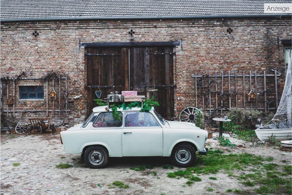 Trabi Vierseithofcafè Landwirtschaft Ludwigsfelde Brandenburg