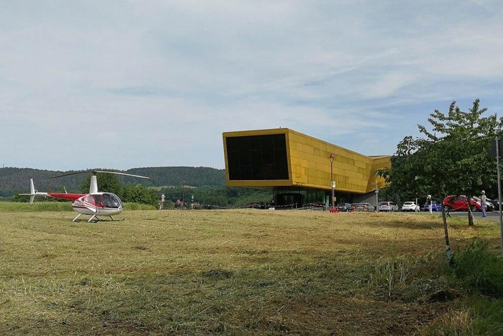 die Arche Nebra in Sachsen-Anhalt