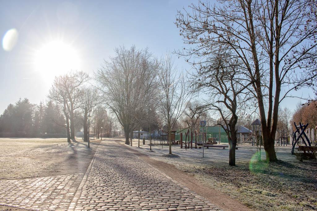 Park Ausflug nach Berlitz in Brandenburg