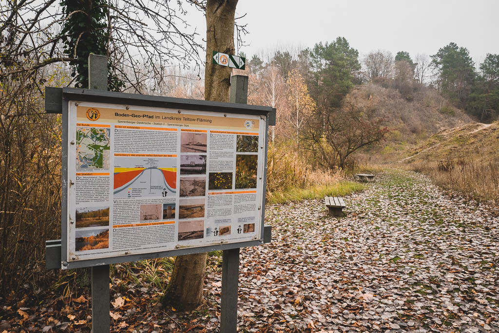 Boden-Geo-Pfad Mellensee Brandenburg
