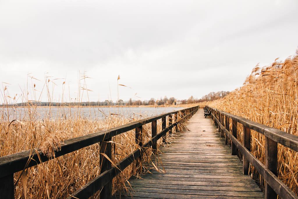 Bohlensteg Blankensee Ausflug nach Trebbin in Brandenburg