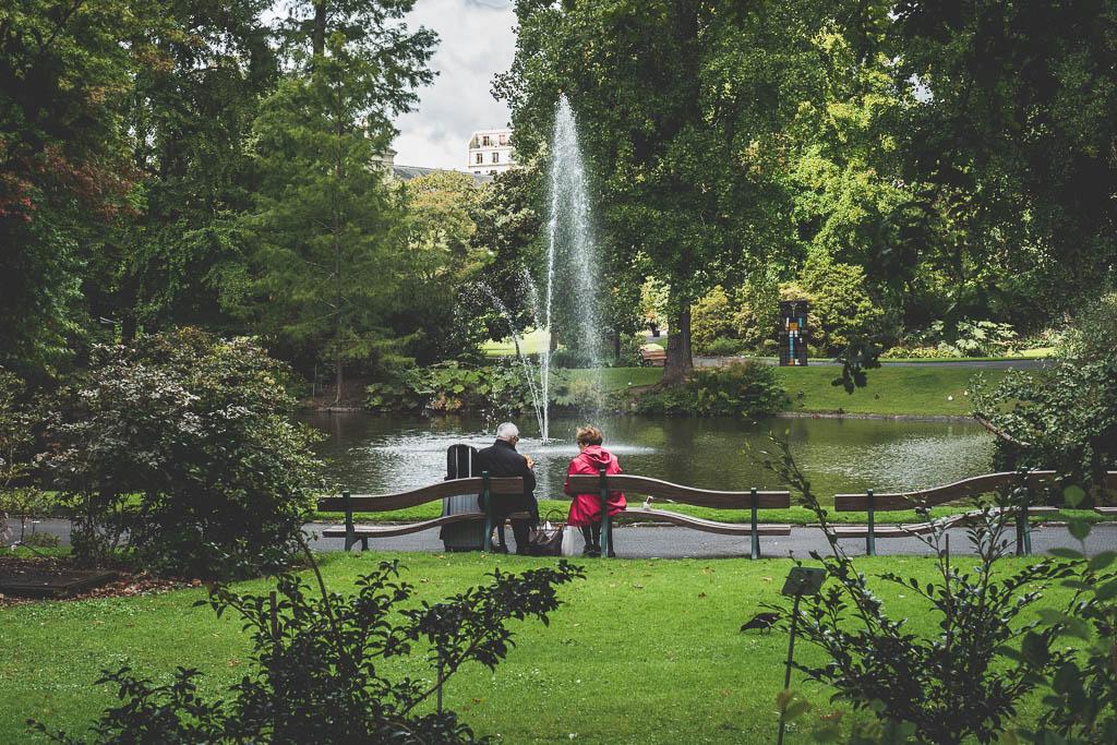 Botanischer Garten Nantes Frankreich