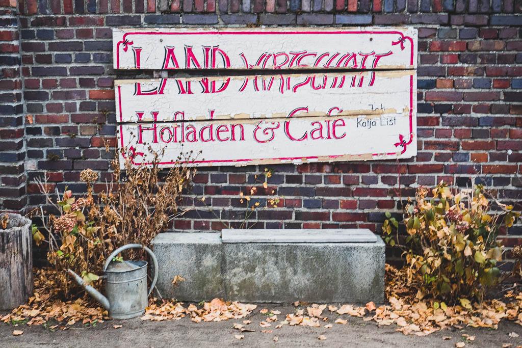 Vierseithofcafè Landwirtschaft Ludwigsfelde Brandenburg