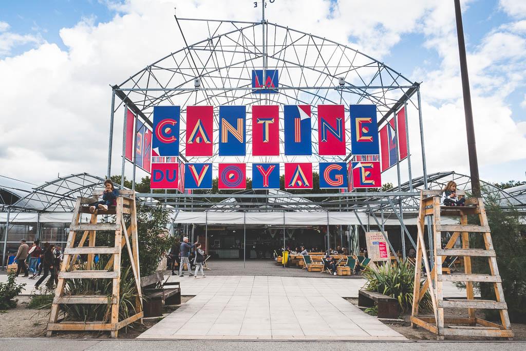 Cantine du Voyage Île de Nantes Frankreich