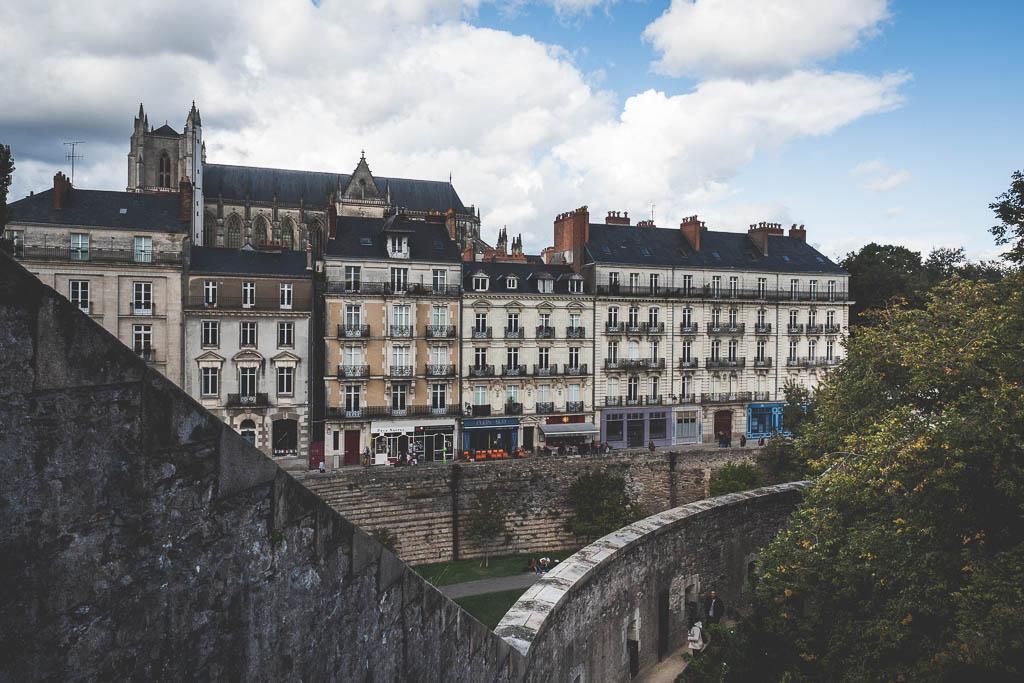 Château des ducs de Bretagne Nantes Frankreich