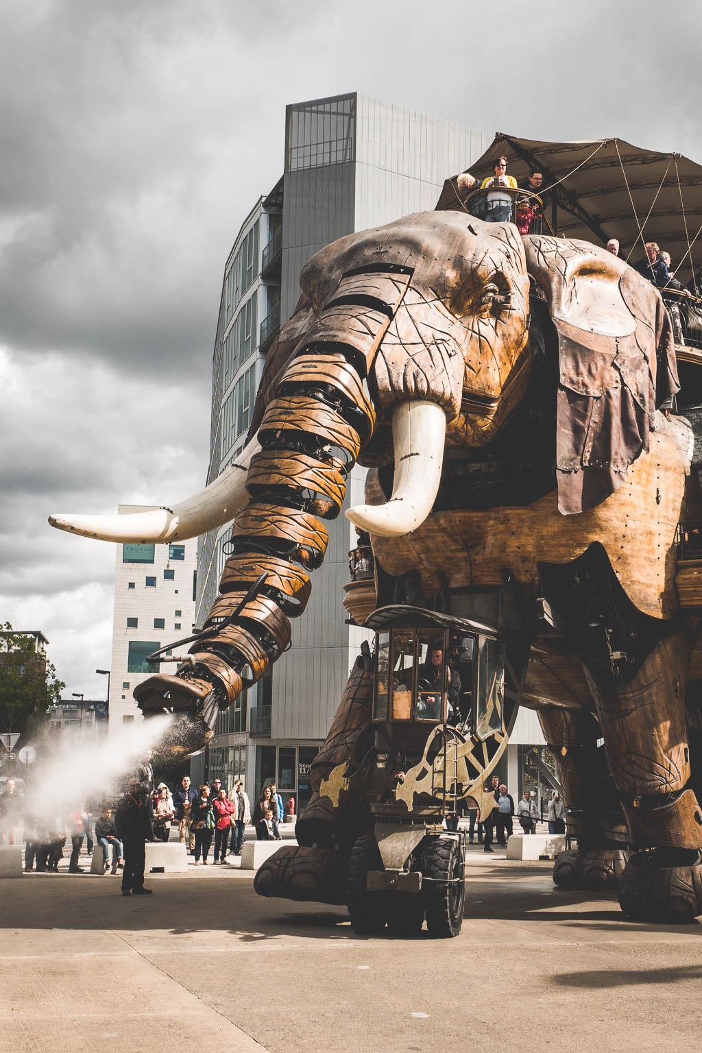 Elefant Maschines de l´Île Nantes Frankreich