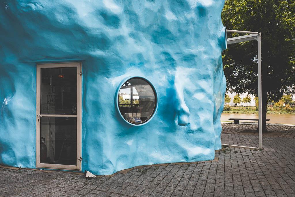 L´Absence Estuaire Kunst am Fluss Nantes Frankreich