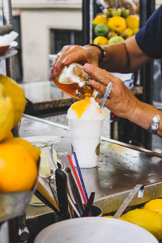 Grattachecca – Alla Fonte D'Oro Restaurant Tipps Rom Trastevere