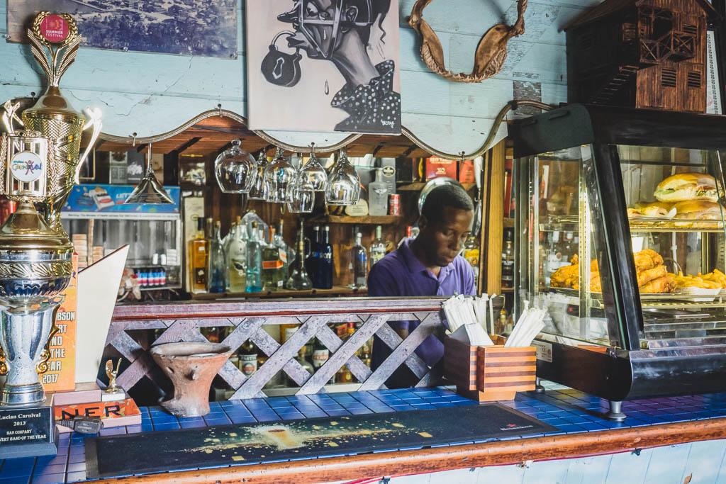 Kneipe Hardest Hard Castries Saint Lucia