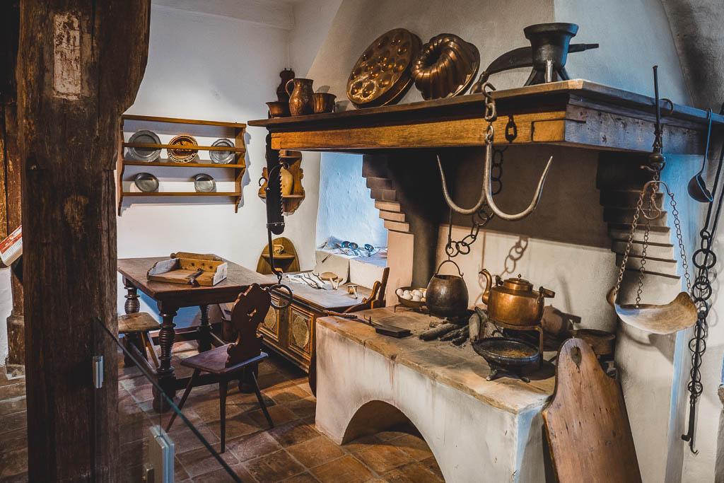 Küche Brüder-Grimm-Haus in Steinau an der Straße