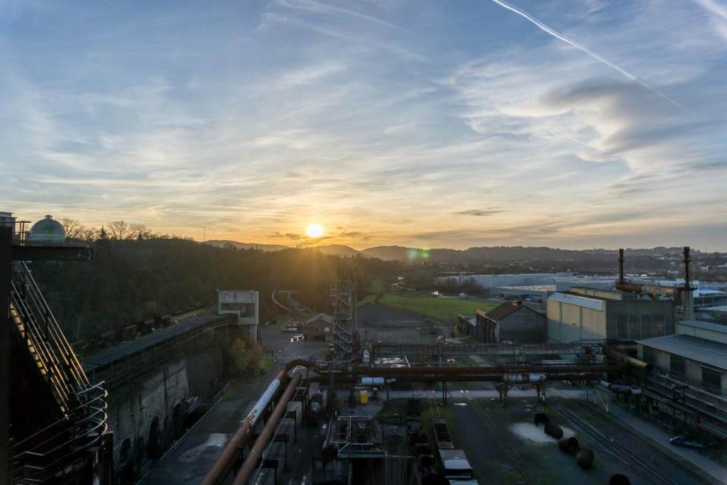 die Heinrichshütte und der Landschaftspark Duisburg-Nord Sommer Ausflug
