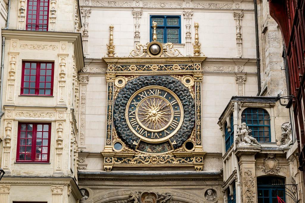Le Gros Horloge Rouen Normandie
