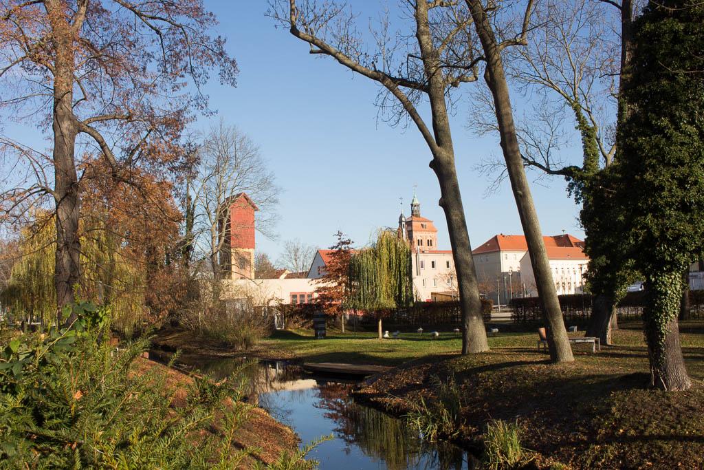Park Ausflug nach Luckenwalde in Brandenburg