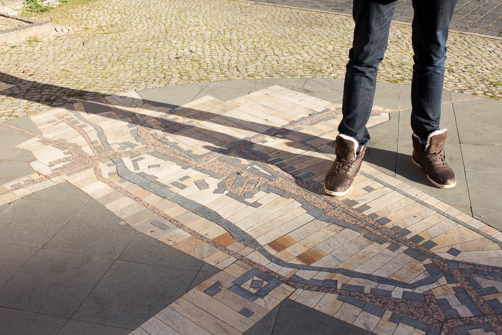 Stadtplan Ausflug nach Luckenwalde in Brandenburg