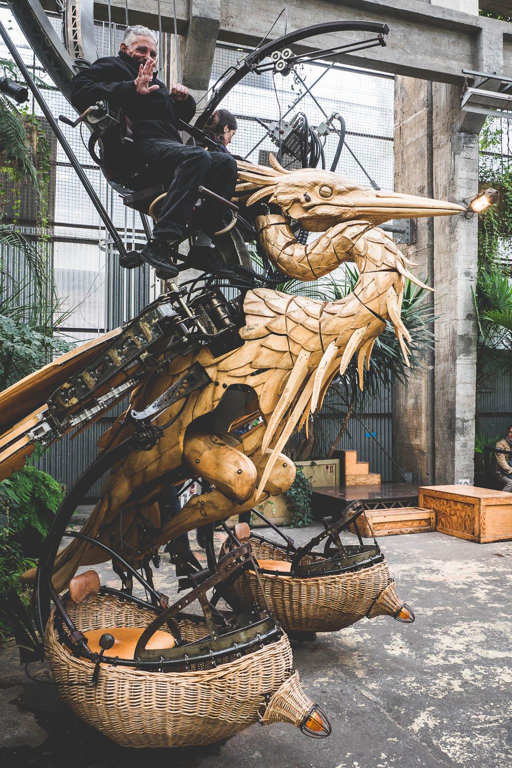Maschines de l´Île Nantes Frankreich