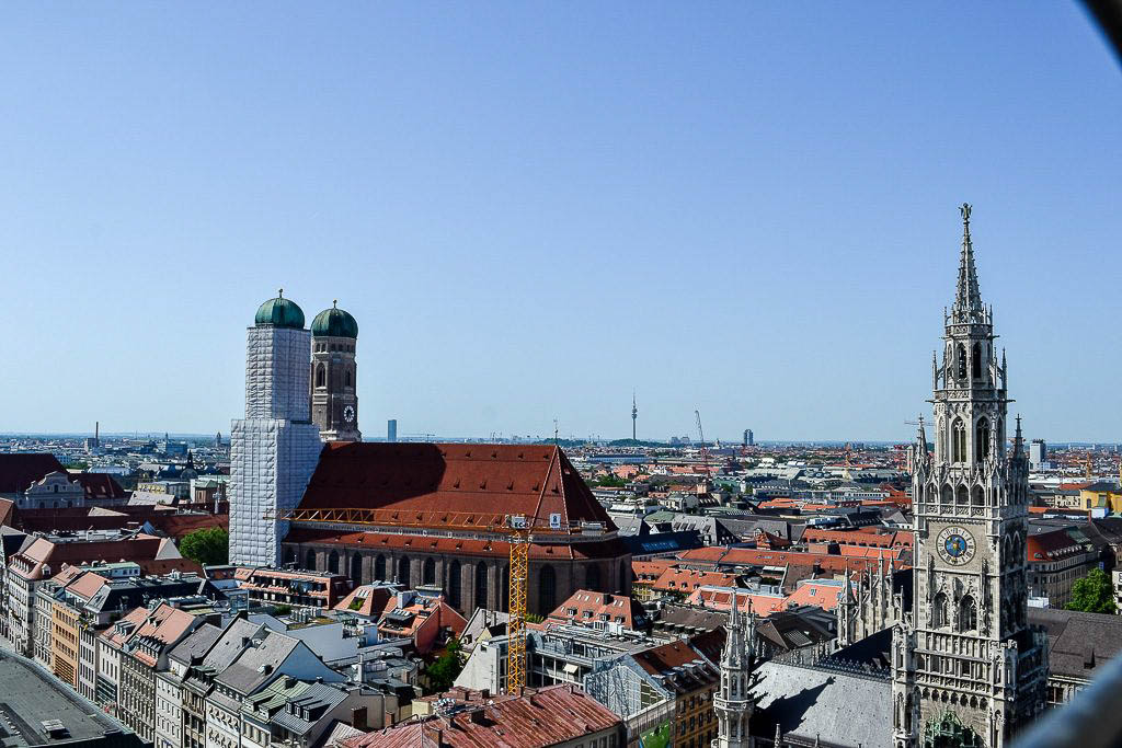 München Ausflug im Sommer