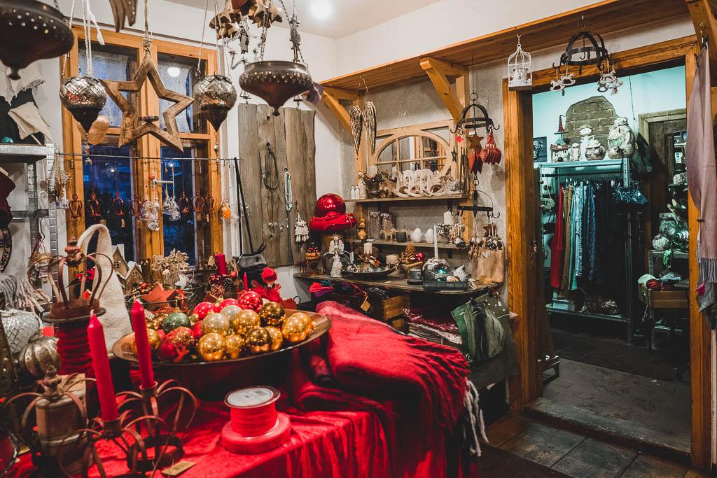Weihnachtsmarkt Museumsdorf Glashütte Brandenburg