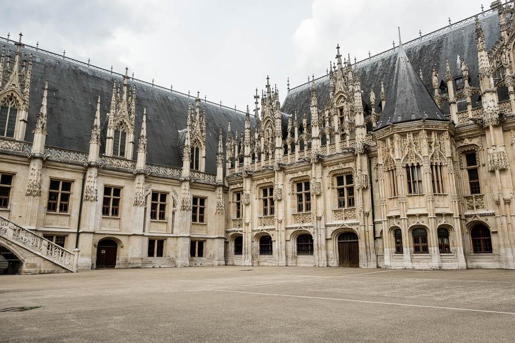 Le Palais de Justice Rouen Normandie