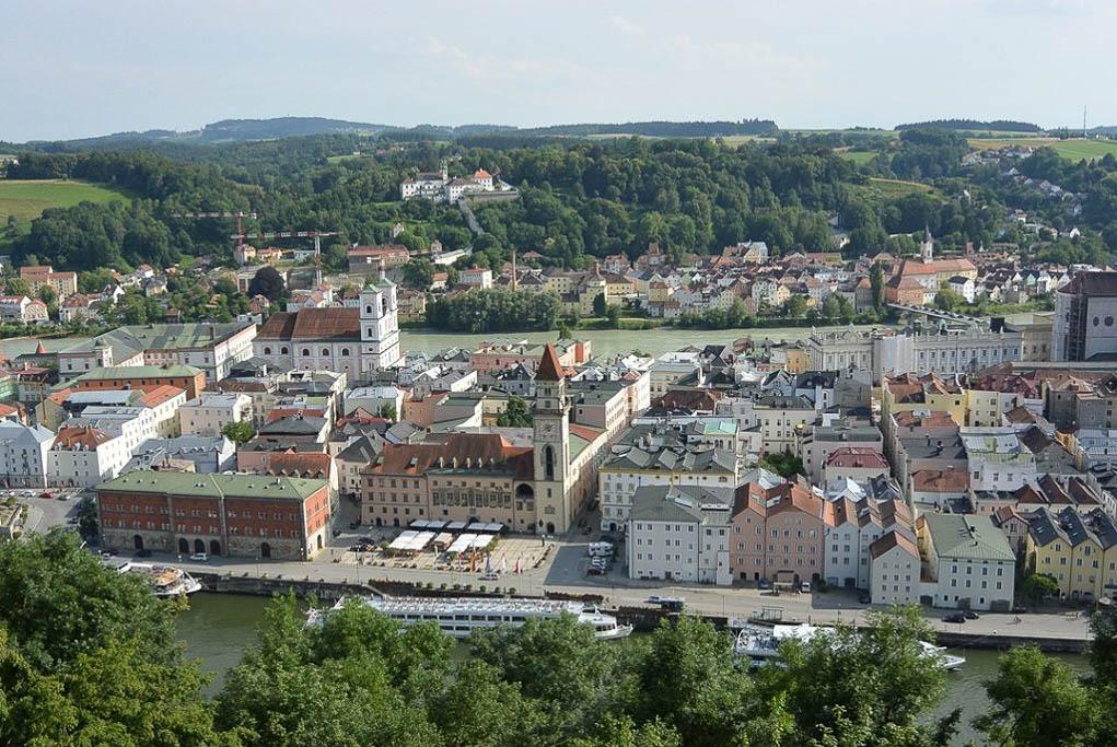 Passau Ausflug im Sommer
