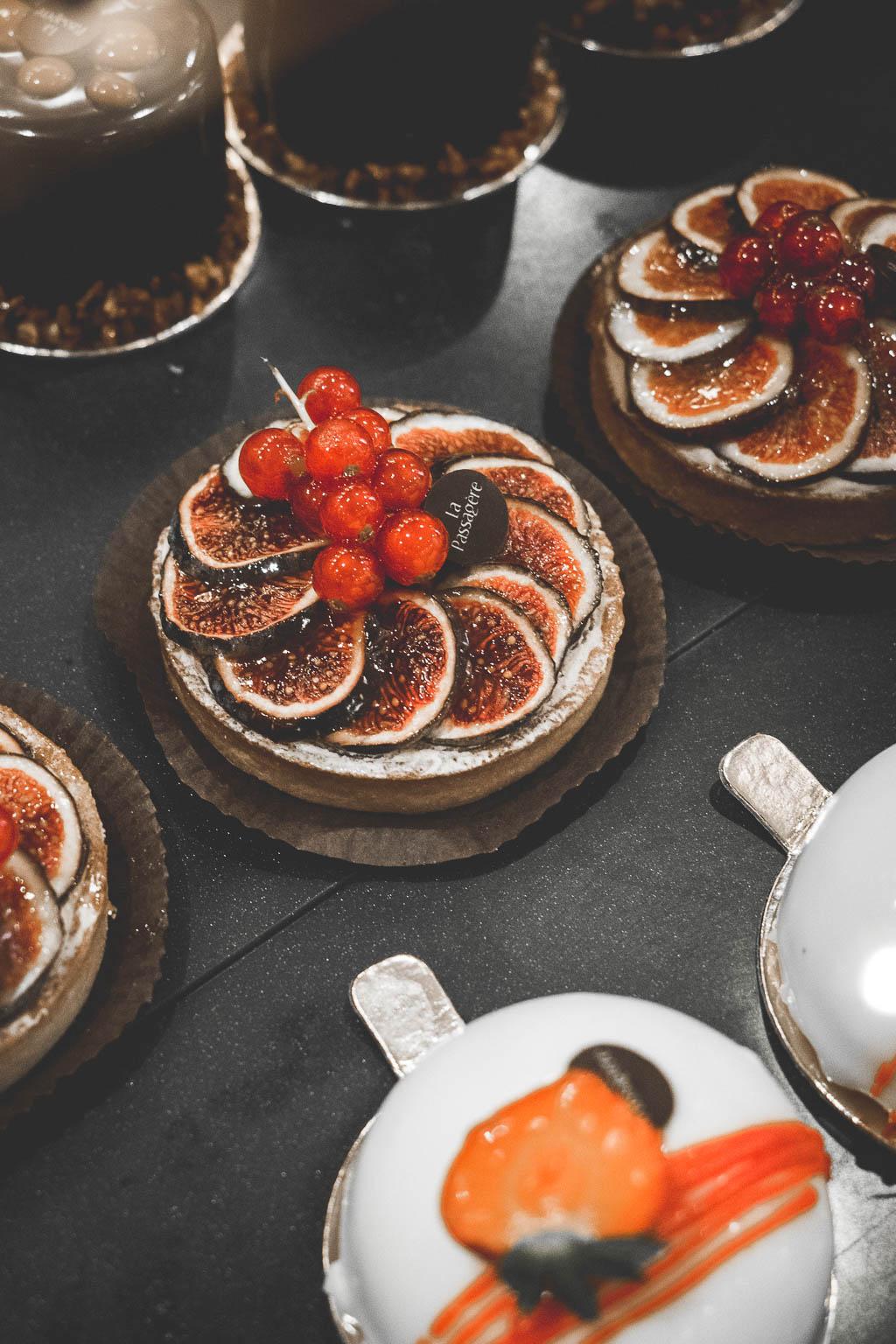 Kuchen Pommeraye Passage Nantes Frankreich