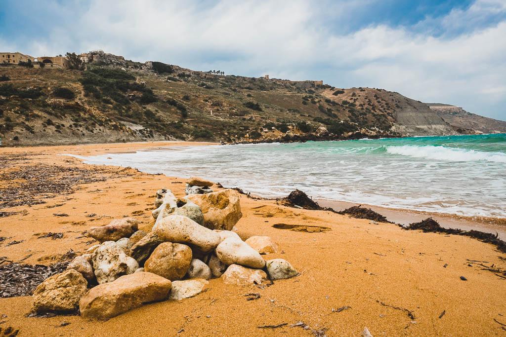 Strand Ramla Bay Gozo