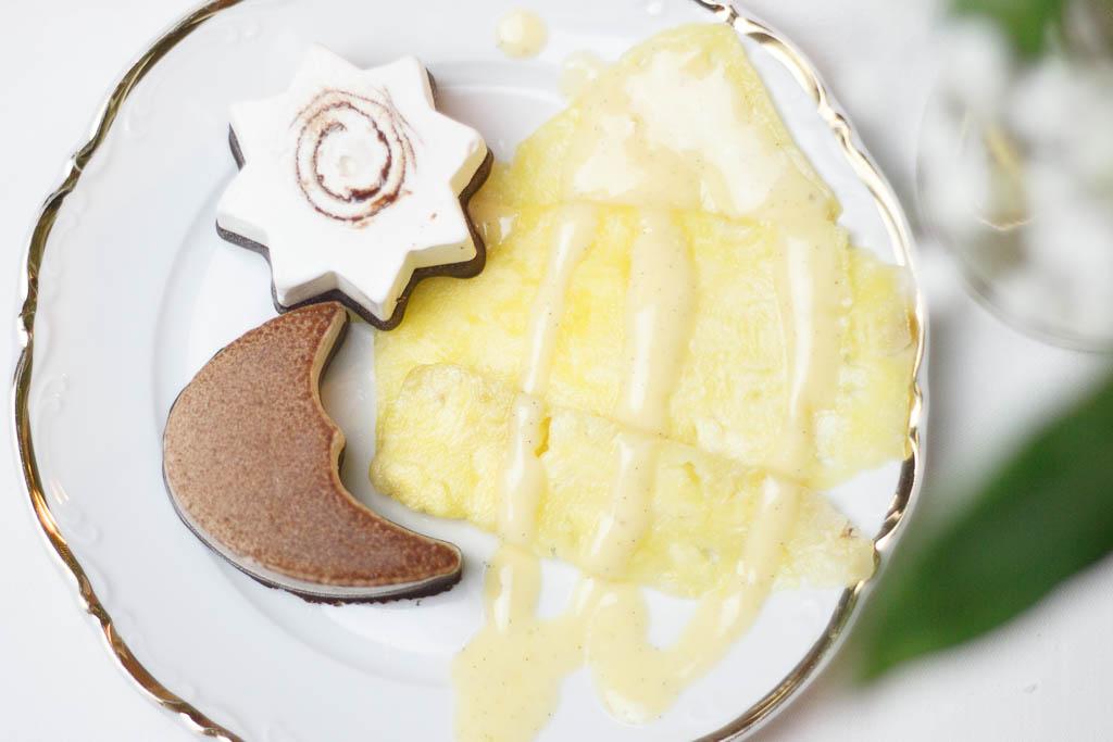 Rezept Ananas-Carpaccio mit Eispralinen und Zabaglione