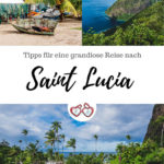Pinterest Grafik Saint Lucia Sehenswürdigkeiten und Tipps