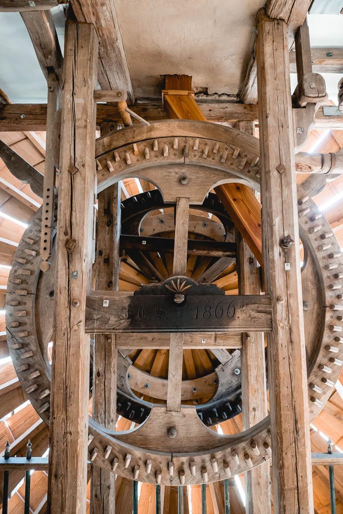 Scheunenwindmühle Salon Mellensee Brandenburg